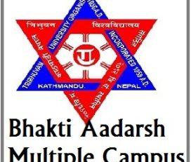 Bhakti Adarsha Multiple Campus