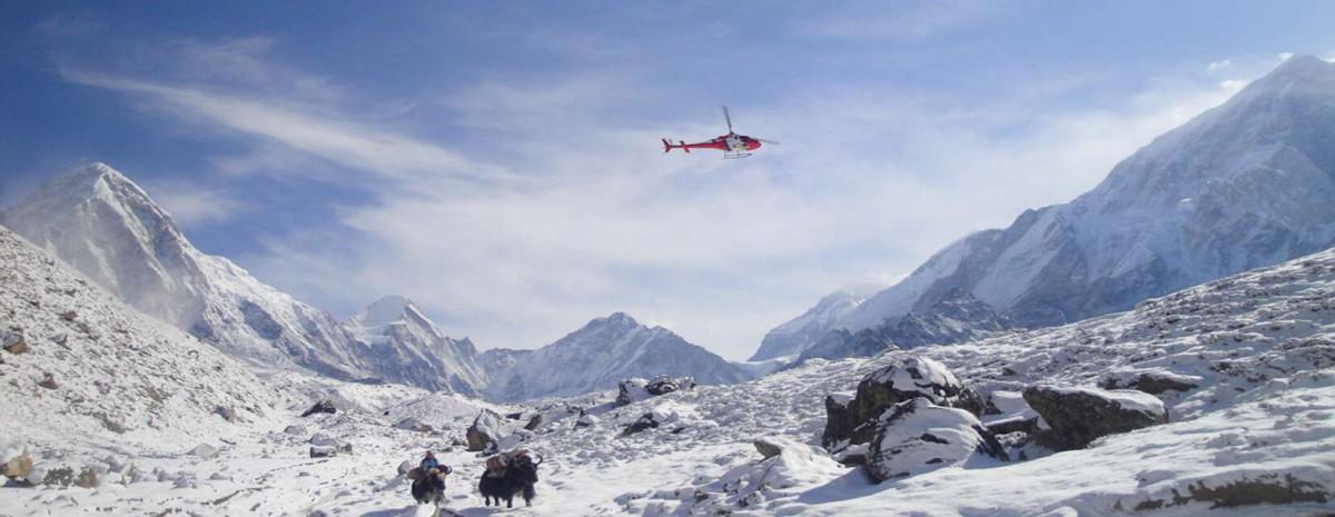 Everest Base Camp Trek Helicopter Return – Himalayan Frozen Adventure