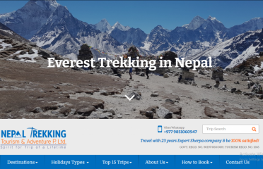 Nepal Trekking Tourism & Adventure